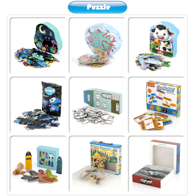 Factory Wholesale Customized Board Games Kids Educational Toys Classic Paper Figures Board Game