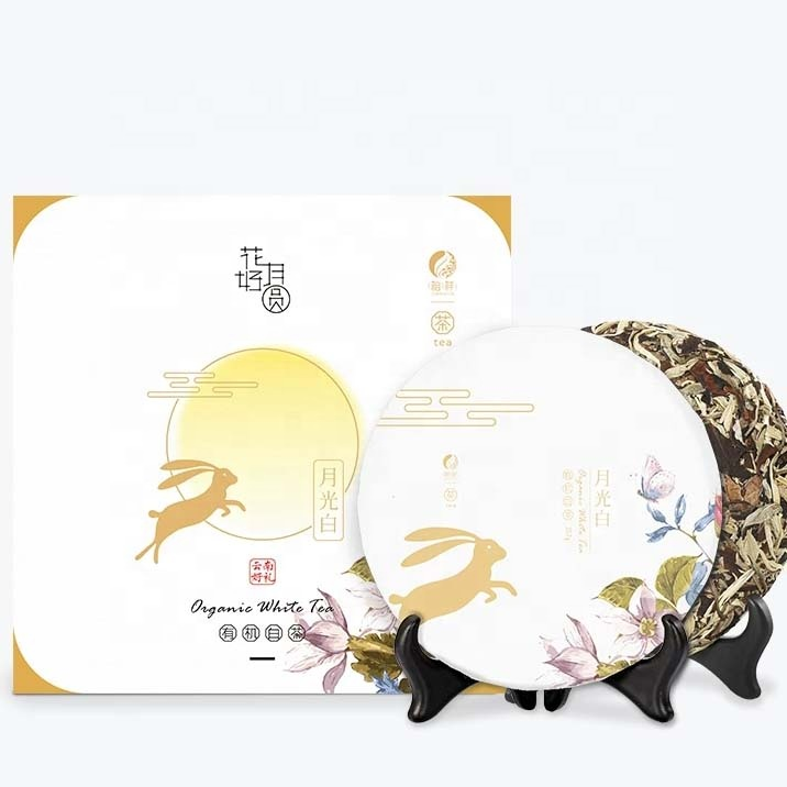ZuXiang Wuliangfengyue Organic White Tea Mid-Autumn Festival Gifts Chinese Traditional Festival Packaging - 4uTea   4uTea.com