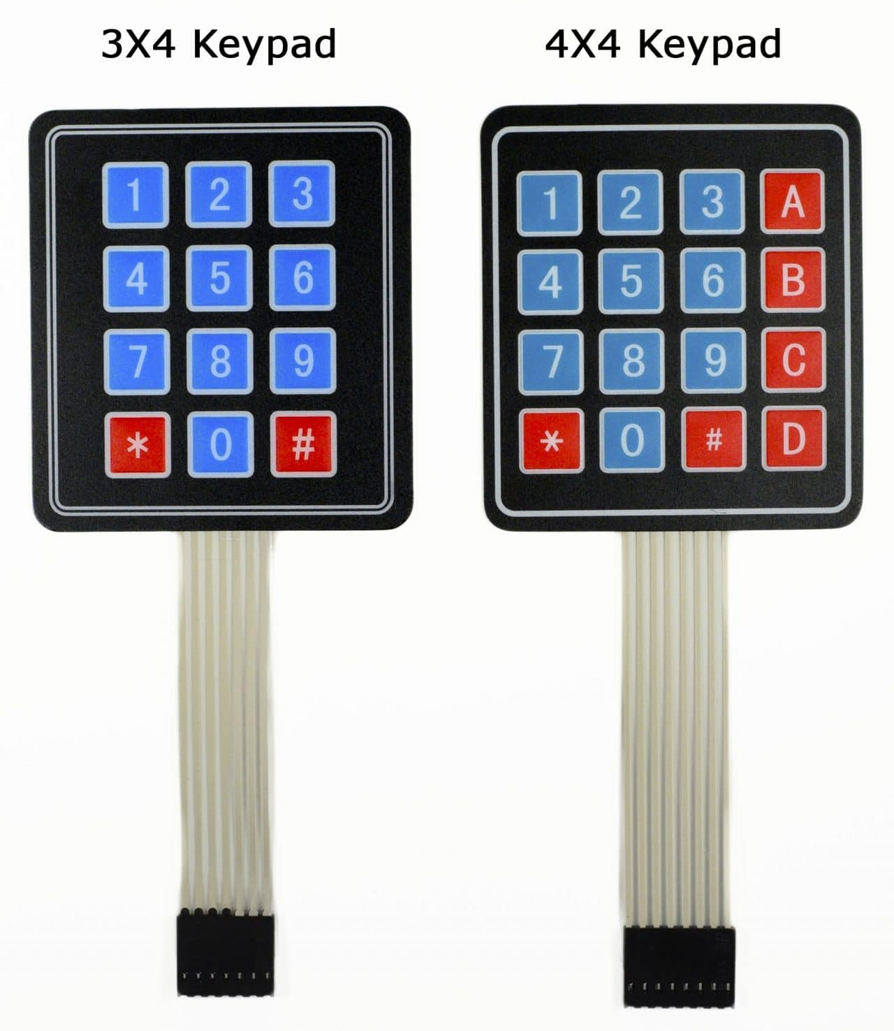 OEM/ODM Manufacturer Custom alphanumeric keypad membrane switch