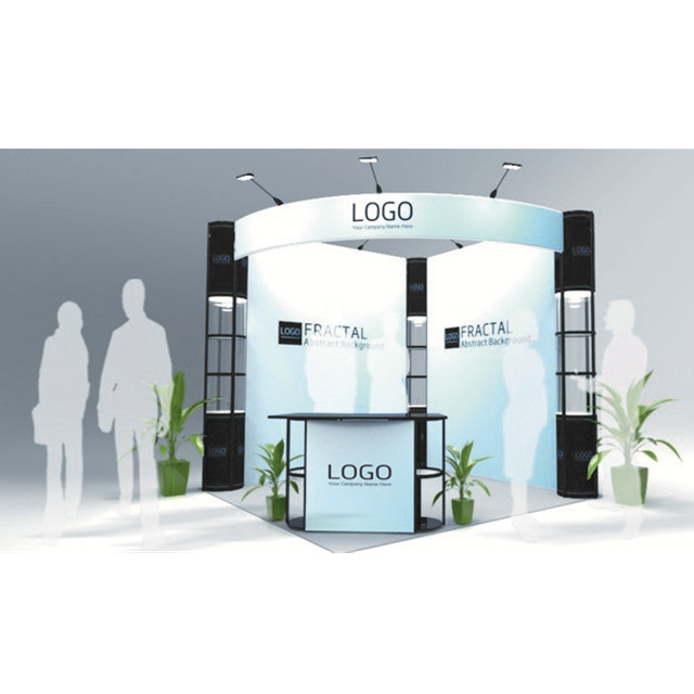 3*6 modular aluminum trade show exhibition display <strong>booth</strong> <strong>stand</strong> outdoor solutions