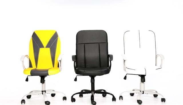 USA STOCK Moderne ergonomische drehbare Computer-Büros tühle mit hoher Rückenlehne und Fuß stütze