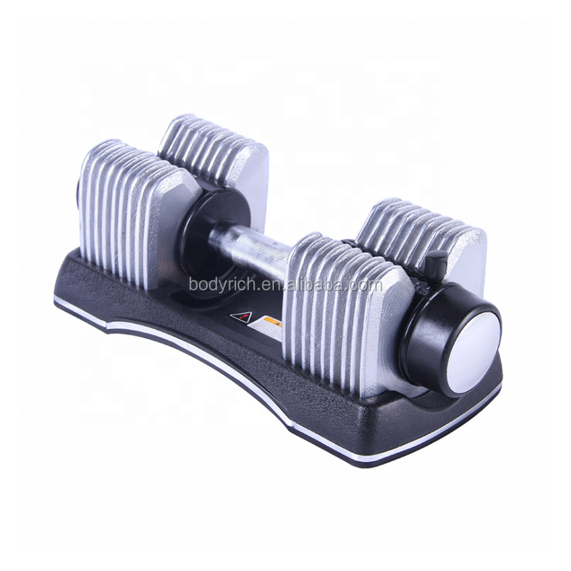 Home Exercise Cast Iron Adjustable Dumbbell 25kg