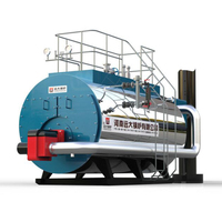Industrial Fire Tube 10Ton Biogas Steam Generator