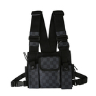Universal Hands Free Chest Harness Bag Holster for Two Way Radio (Rescue Essentials)