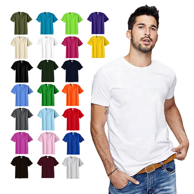 wholesale Oem T-<strong>shirts</strong>, In bulk unisex custom letter printing 100% organic cotton plus over size blank Plain men's T <strong>shirts</strong>