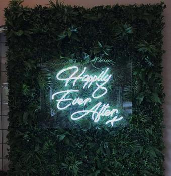 High quality Happy Ever After neon sign custom acrylic led wedding sign