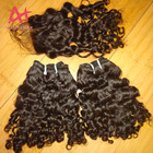 New Arrival Cambodian Loose Deep Wave Curly Pattern Hair Weave Bundles Top Grade 12A Cuticle Aligned Raw Cambodian Hair