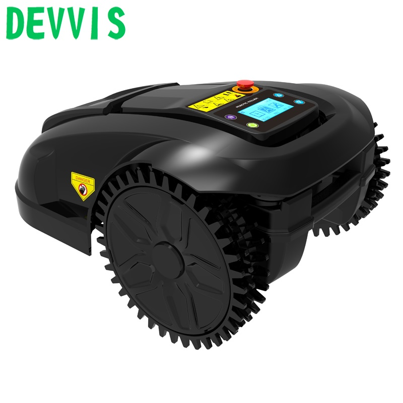 2020 The 6th generation robot grass cutting machine E1800 for small lawn with 100m wire+100pcs pegs+6pcs blade