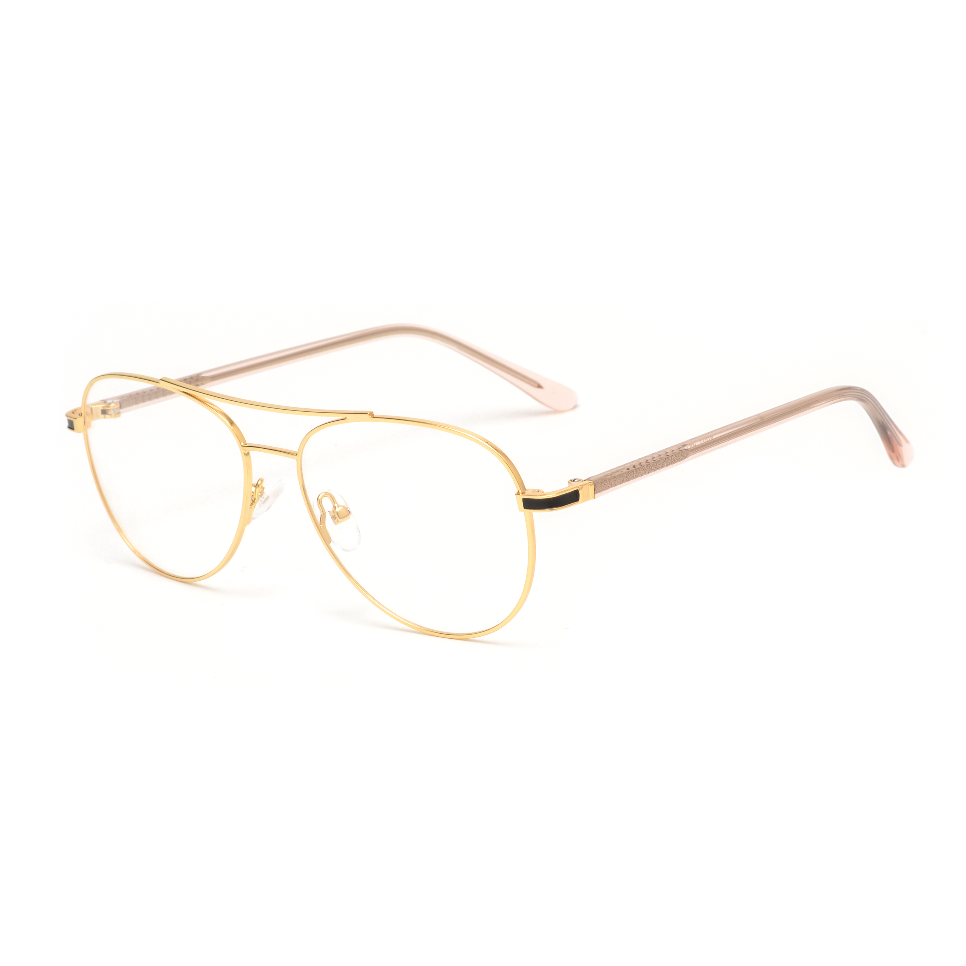 New arrival models metal high quality stainless steel fashion round stock optical eyeglasses frames