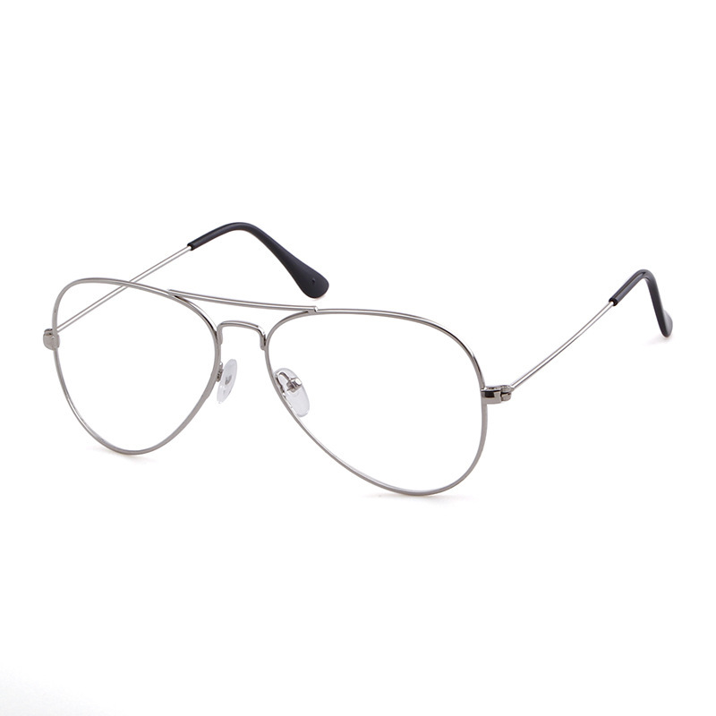 Hot Classic Clear Glasses Gold Frame Vintage Sunglass Women Men Optical Aviation Eyeglasses Transparent Clear Glasses