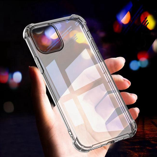 卸売アンチノックtpu透明電話カバー耐衝撃ソフトケース、iphone 11 pro max耐衝撃電話ケース
