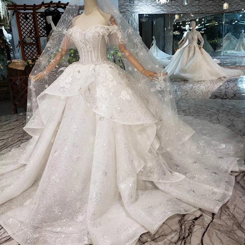 Grossiste robe mariage femme voilée-Acheter