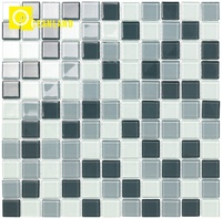 good quality cheap price crystal glass mosaic