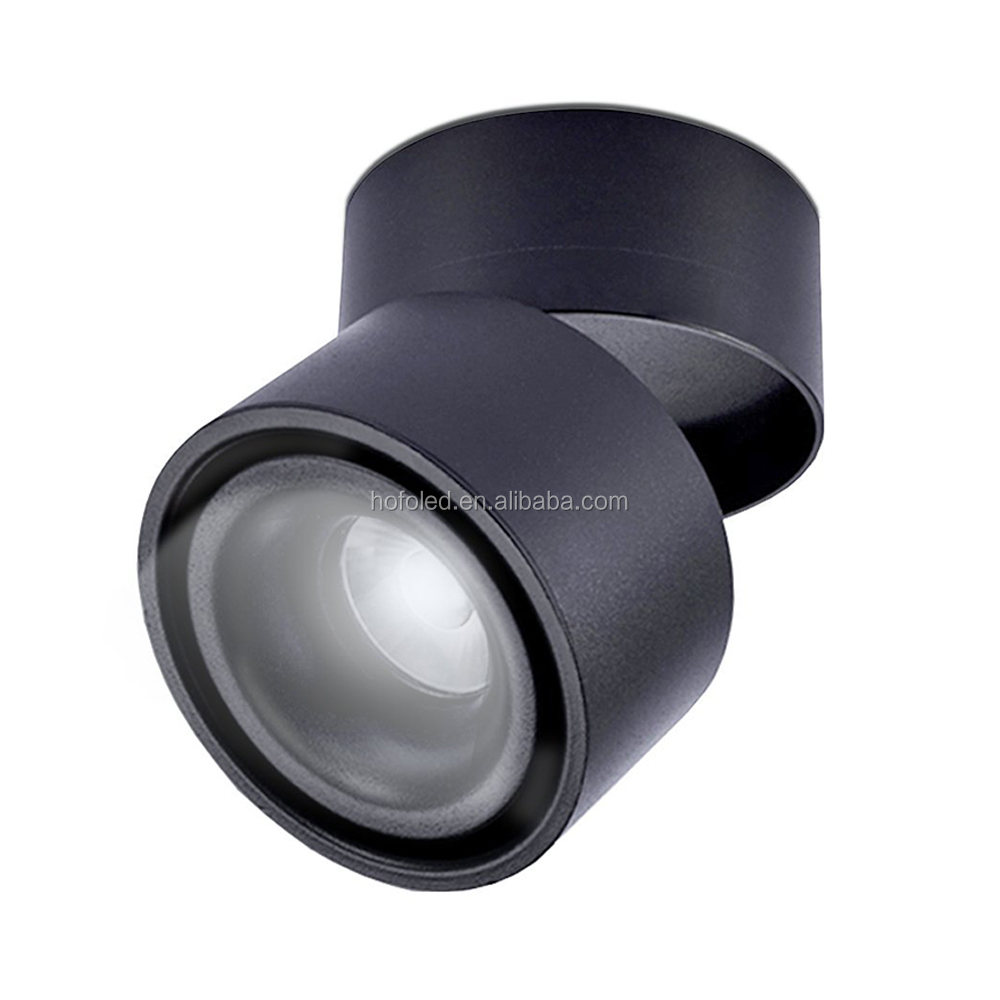 High quality Rotatable commercial lights recessed mounted indoor 7watt 10watt led down light
