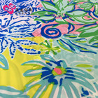 Beautiful flower design printed fabric 150D oxford printed fabric water repellent