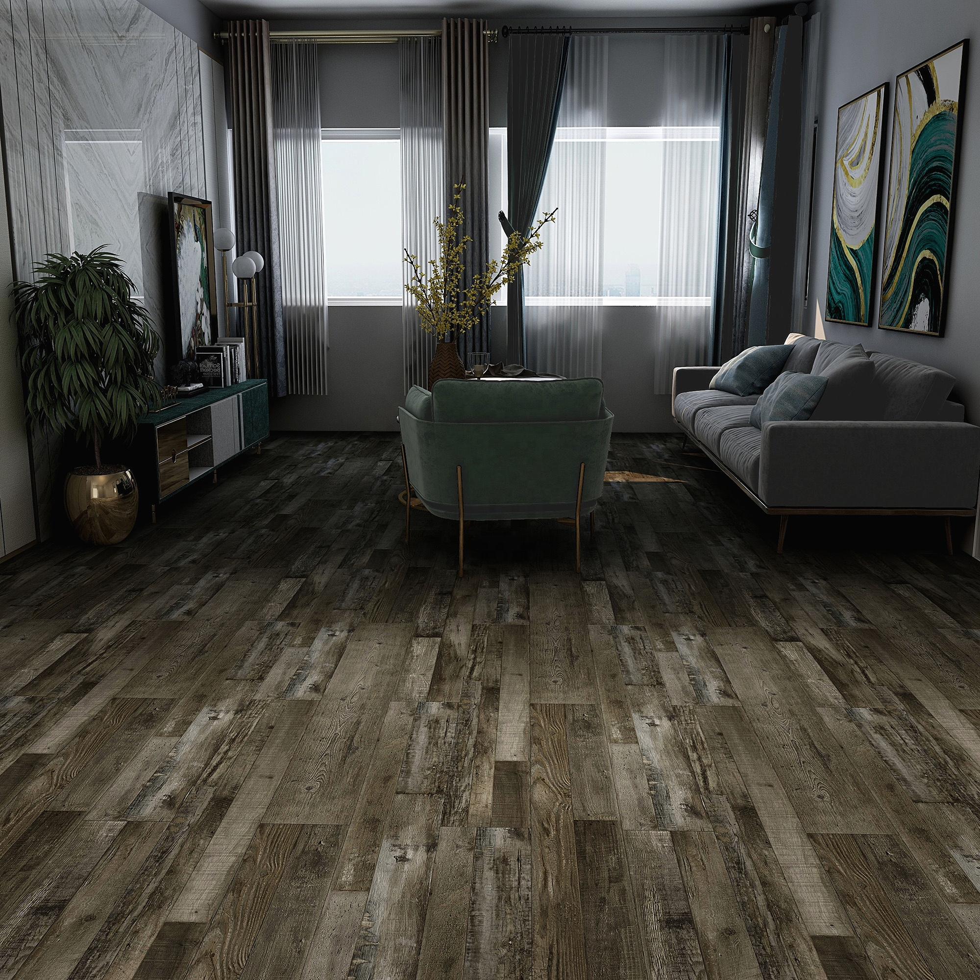 Waterproof Quick Cilck PVC Vinyl/SPC/WPC/ Laminate Flooring for Residential and Commercial