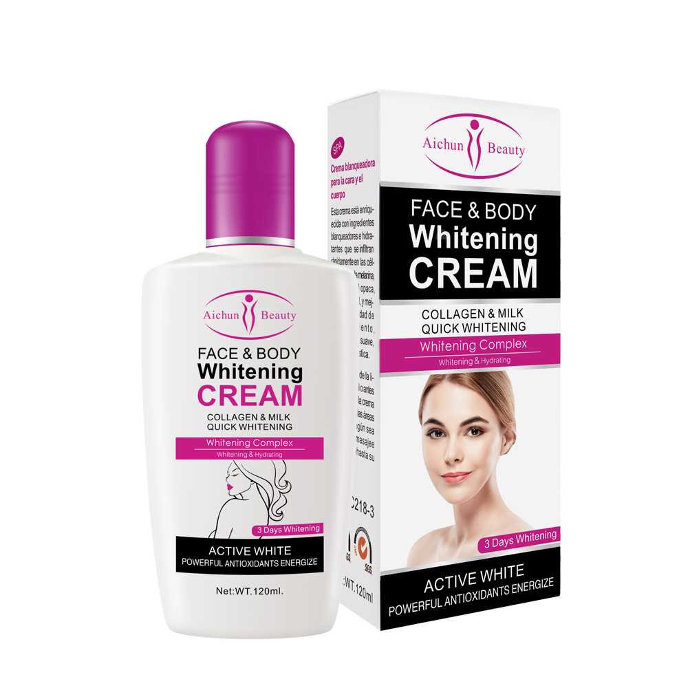Aichun Beauty Milk Moisturizer Natural <strong>Body</strong> Face Skin Whitening <strong>Cream</strong> For Winter
