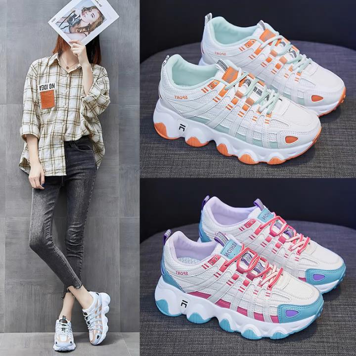 Haute qualité dames mode sneakers chaussures décontractées dame en gros sneaker chaussures de sport femmes