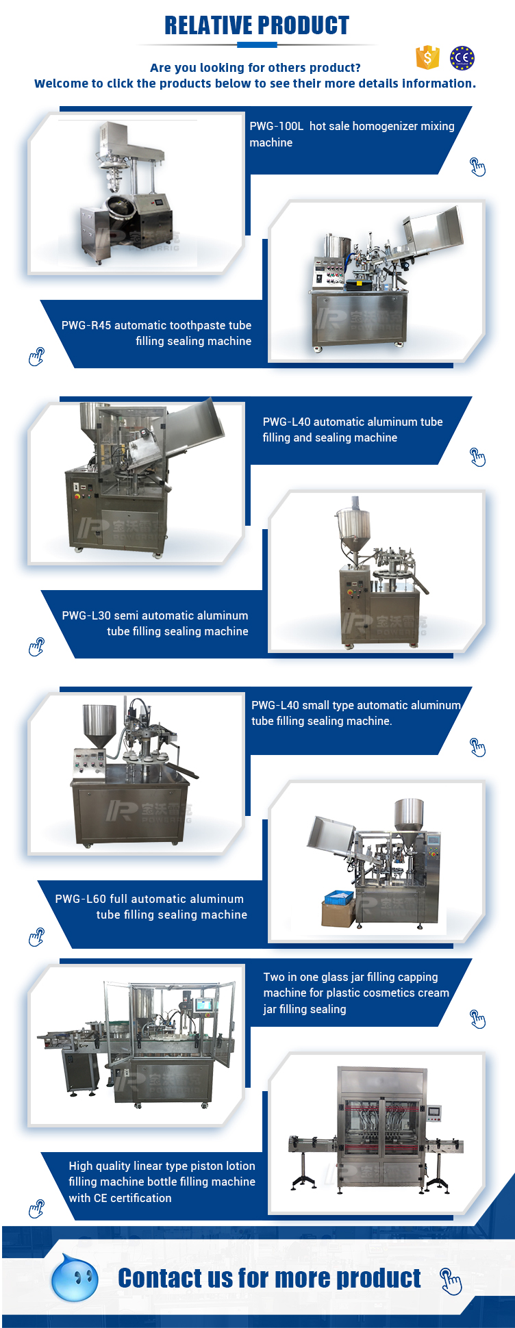 Compact automatic soft tube filling and sealing machine