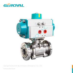 pneumatic motorized pneumatic Stainless Steel Butt Welding Ball Valve