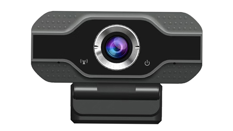 USB 720p Interface Hidden OEM ODM Logo Wireless Webcam Computer Camera With Microphone And Led Lights
