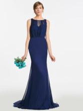 Dressv Открытое платье подружки невесты темно-синее платье без рукавов длиной до пола, женское платье для свадебной вечеринки, официальное пла...(Китай)