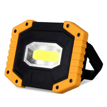 Manufacturer Supply 2*18650 Battery Operated Waterproof Power Bank USB Rechargeable 10W Cob led Work Light for Auto Repair