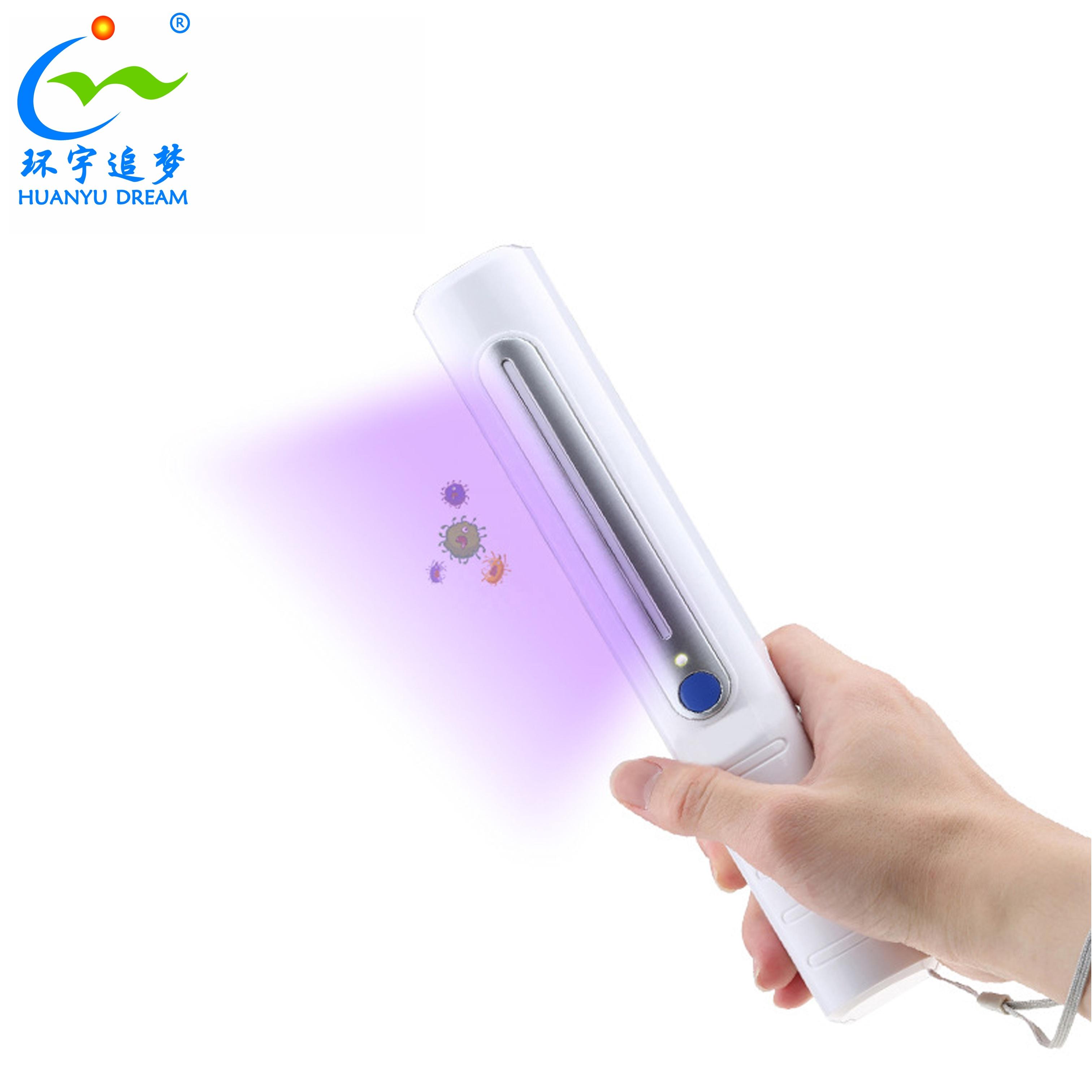 Amazon EPA номер Uv-C светодиодный свет стерилизация ультрафиолетовая дезинфекция ручной УФ стерилизатор лампа