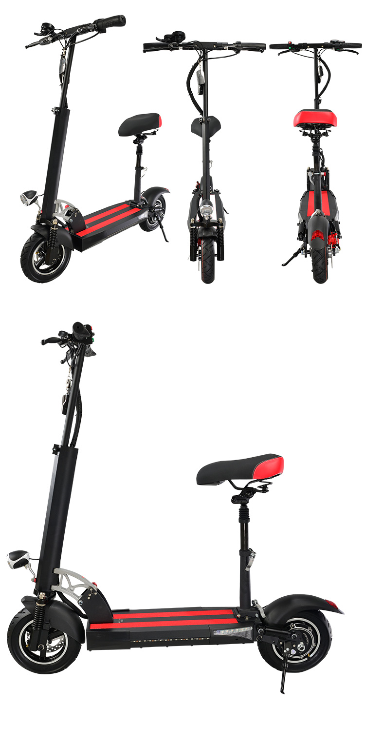 2020 China factory 2 wheels with seat off road electric scooter for sale