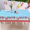 2020 New Arrival Merry Christmas Plastic Table Cover Party Disposable Tablecloth Party Supplies Tablecloths