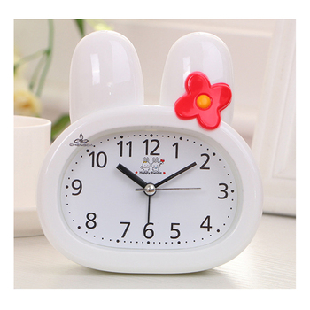 Animal alarm clock cartoon desktop alarm clock rabbit child alarm clock