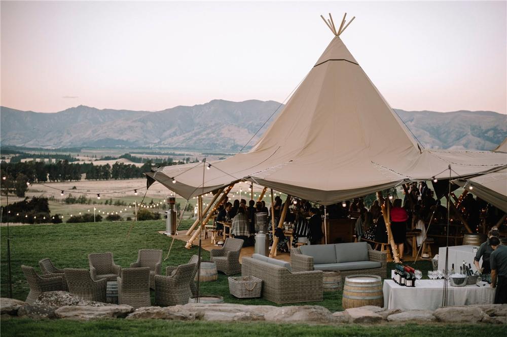 커스텀 300 사람들 좌석 나무 극 방수 대형 tipi 텐트 캠핑/인도 tipi 텐트/대형 tipi 텐트