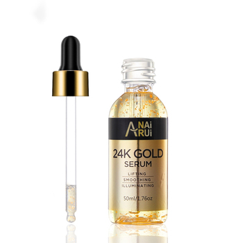 OEM/ODM /Private label Anti Aging Anti Wrinkle Hyaluronic Acid Essence Vitamin E Collagen 24K Gold Serum