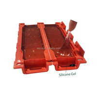 two component silicone gel glue for enclosures pcb waterproofing