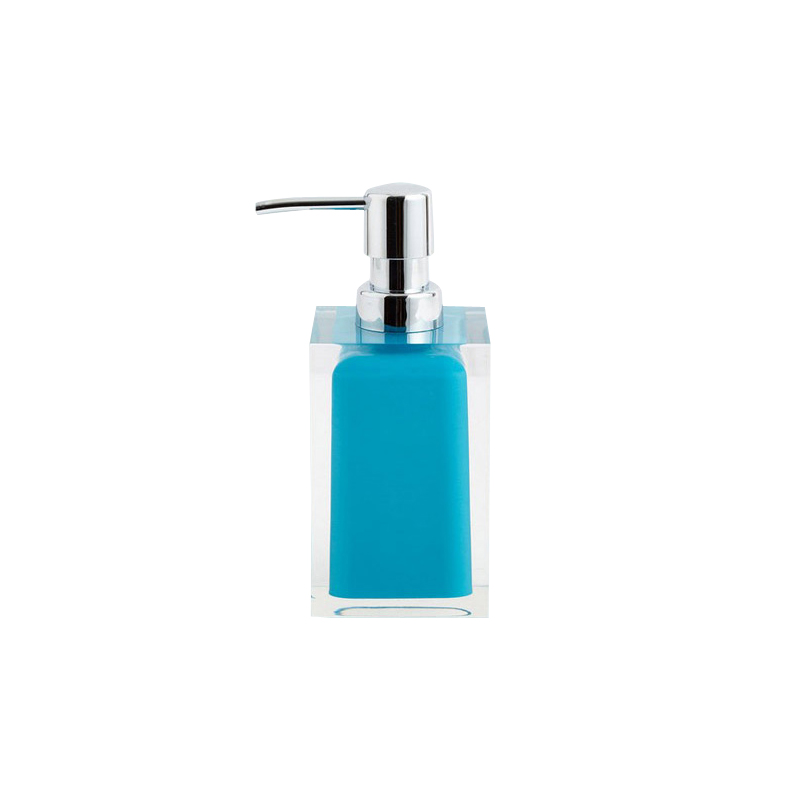 European resin creative emulsion bottle hair wash and body wash bottle is divided into resin bathroom suite