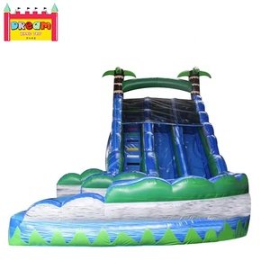 PVC tarpaulin Material and Customized Size High Quality Inflatable Dry Slide