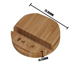 Bamboo Wood Charging Stand Mobile Phone Holder Real Wood Cell Phone Stand Mobile Holder/Bamboo phone holder