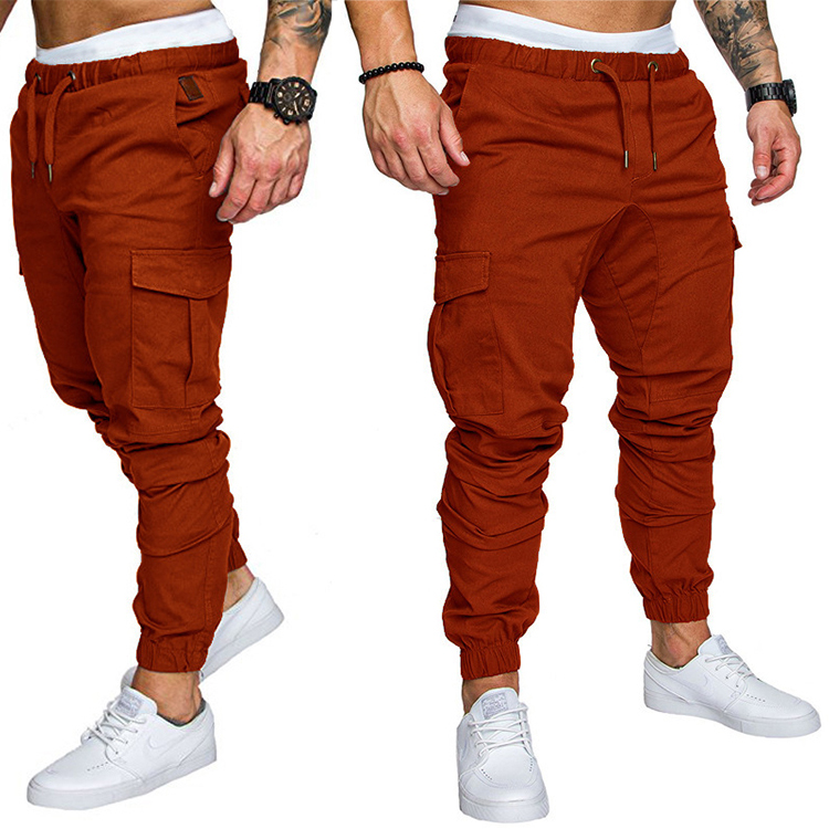 Breathable Sport Pants Mens Running Training Jogging Pants For Men