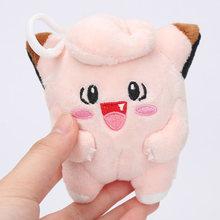 Takara Tomy Pokemon плюшевая кукла 10 см pikachu jirachi Charmander Jigglypuff Eevee снорлакс Пикачу плюшевые игрушки(Китай)