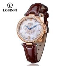 Швейцарские роскошные брендовые Модные женские механические Автоматические часы с сапфиром, женские дизайнерские часы с кристаллами elegeant(Китай)
