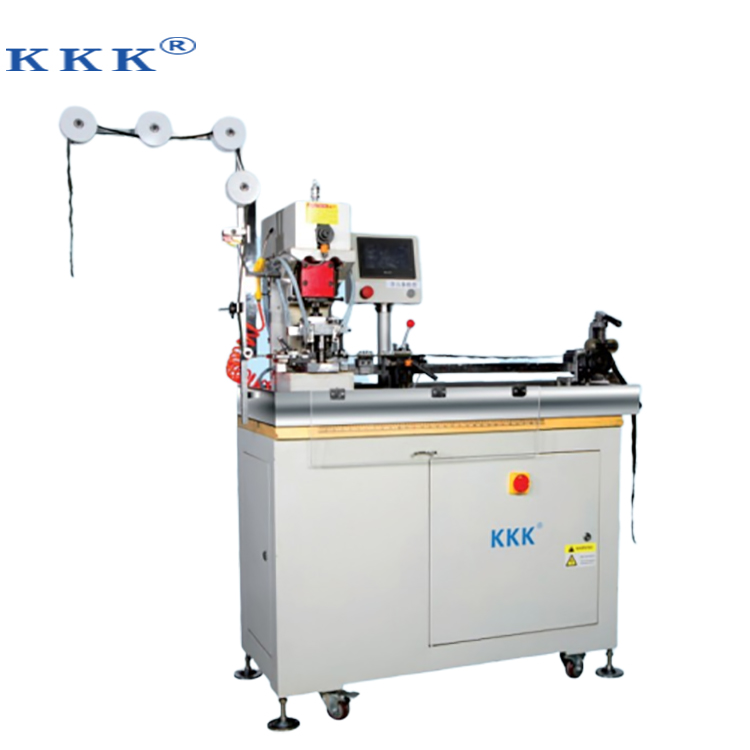 Full-auto intelligente nylon non-tanden cut rits gapping machine fabrikant