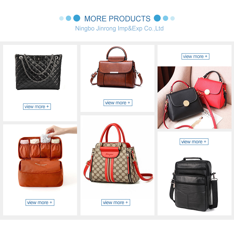 Manufacturers Factory PU Luxury Genuine Leather Lady HandBag for Women