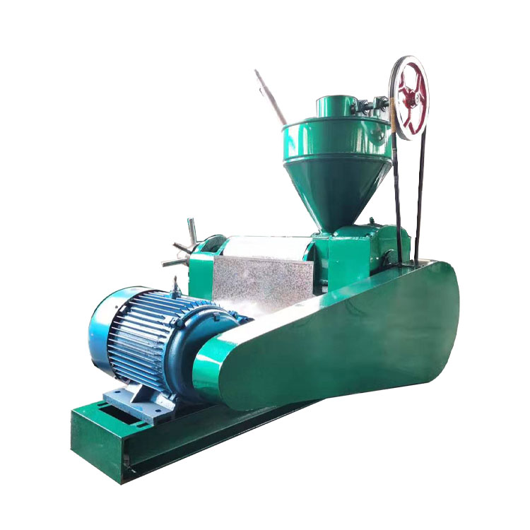 Small Coconut Oil Screw Sunflower Peanut Oil Press Extractor Extraction Machine