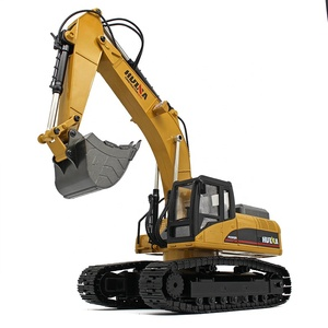 HUINA excavator 1580 580 upgrade version 4 1:14 23Ch RC FULL METAL RC Excavator huina toys with big trucks