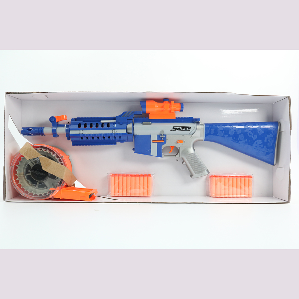 Huiye 2 Pack Foam Bullets Toy Guns with 40 PCS soft bullets gun toys boys toys