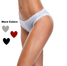 Ladies High Knickers Waist Inflatable UnderPants Cotton Lace Sexy Panties Women Lingerie