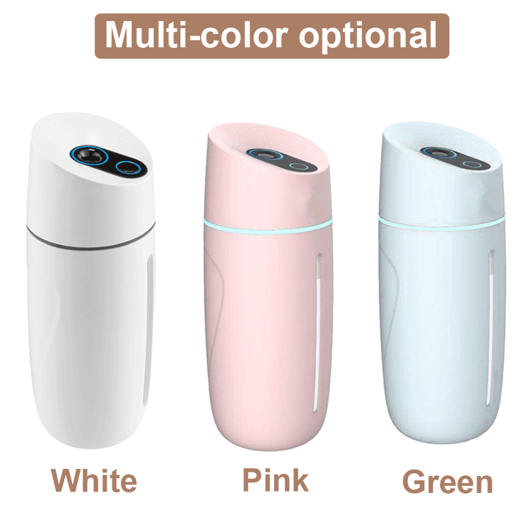 Portable Car USB Humidifier 250ML Mini Mist Essential Oil Diffuser Aroma Humidifier