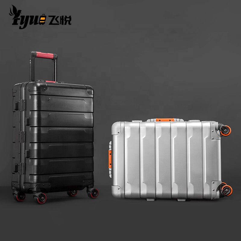 Wholesale Cabin Aluminium Trolley Case Wheeled Bag Suitcase Hand Luggage