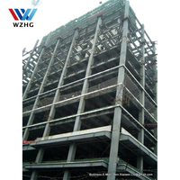 Frame steel structure steel hotel office building high rise/ multilayer building shopping mall Commercial buildings