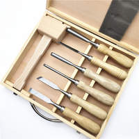 DIY Woodworking Hand Carving Chisel Tool Set With Hammer